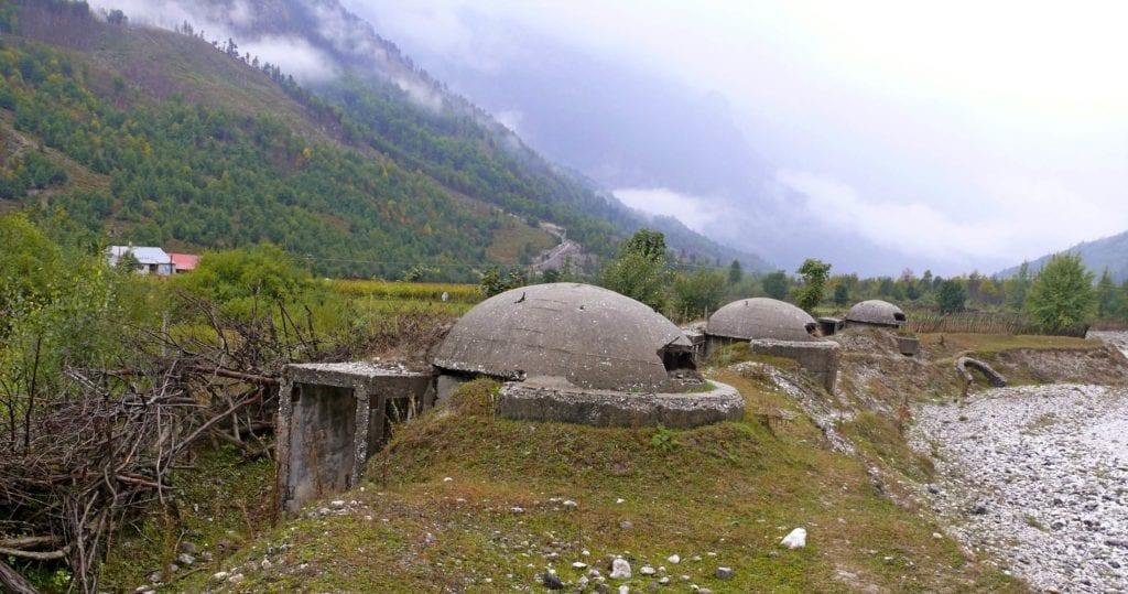 Albania pełna bunkrów - podróż do Albanii