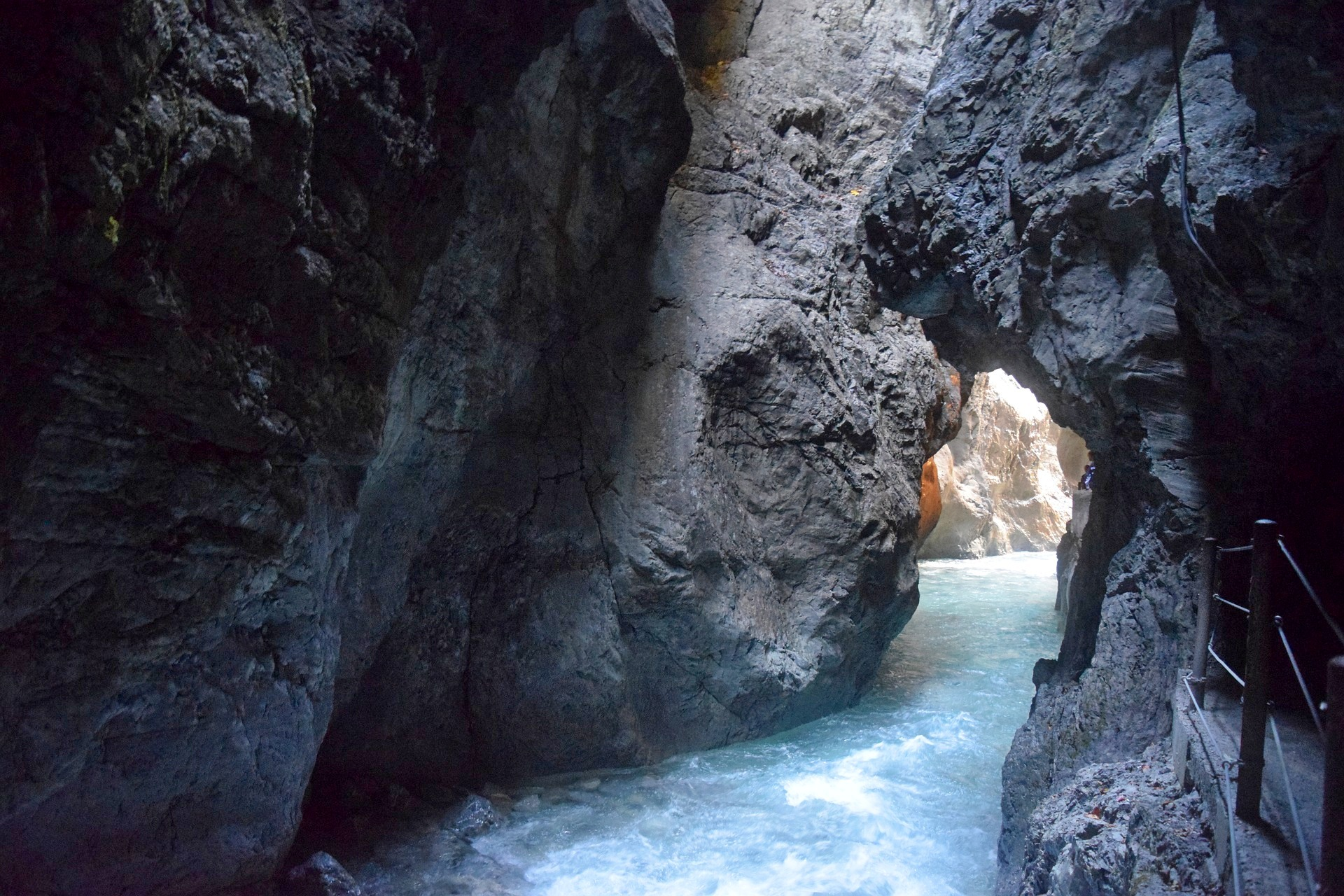 Partnachklamm (Wąwóz Partnach) to skarb bawarskich Alp