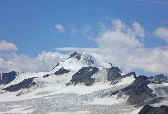 Szczyt Wildspitze w Alpach Otztalskich