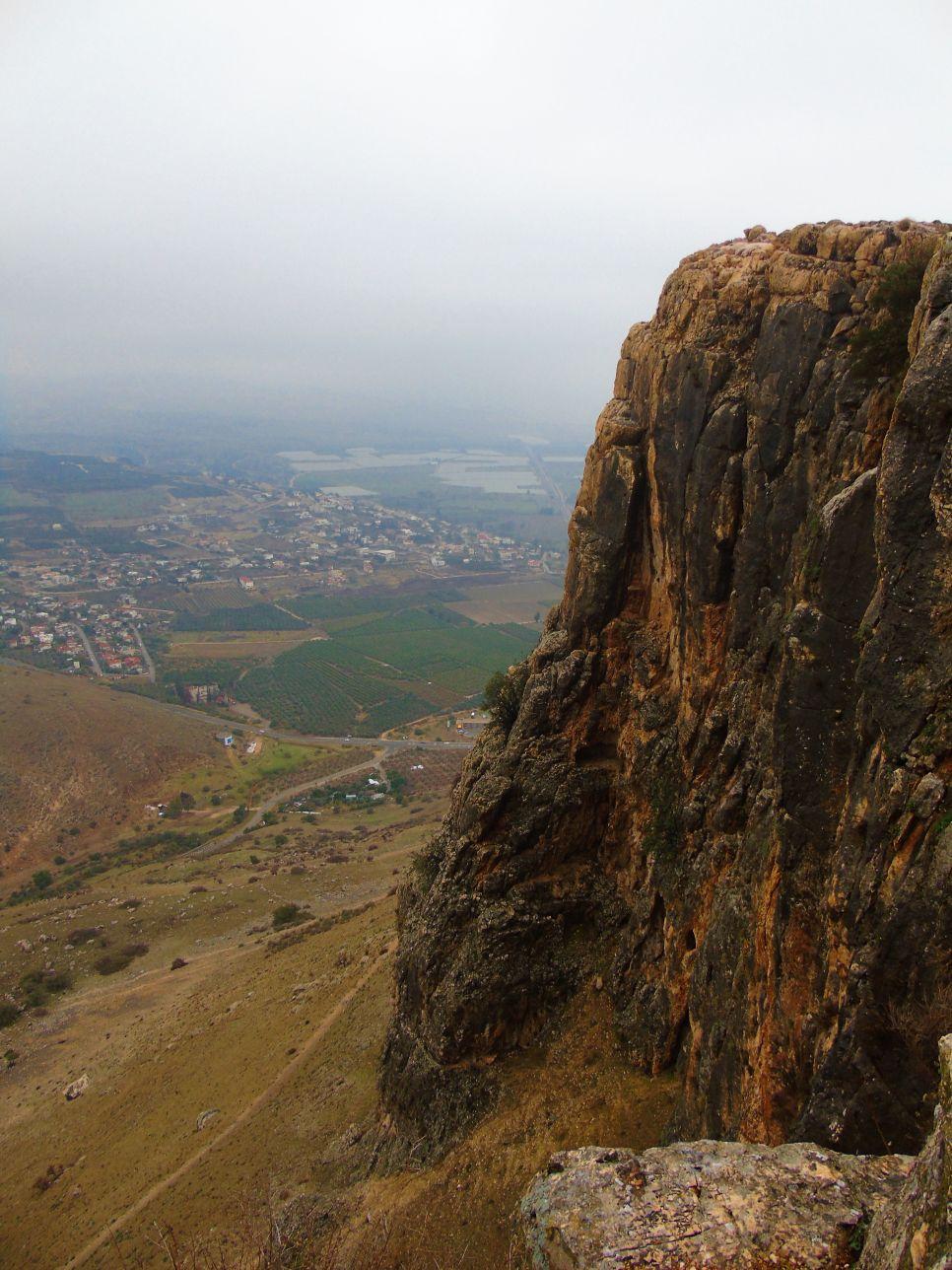 Góra Arbel jest atrakcją naturalną Izraela