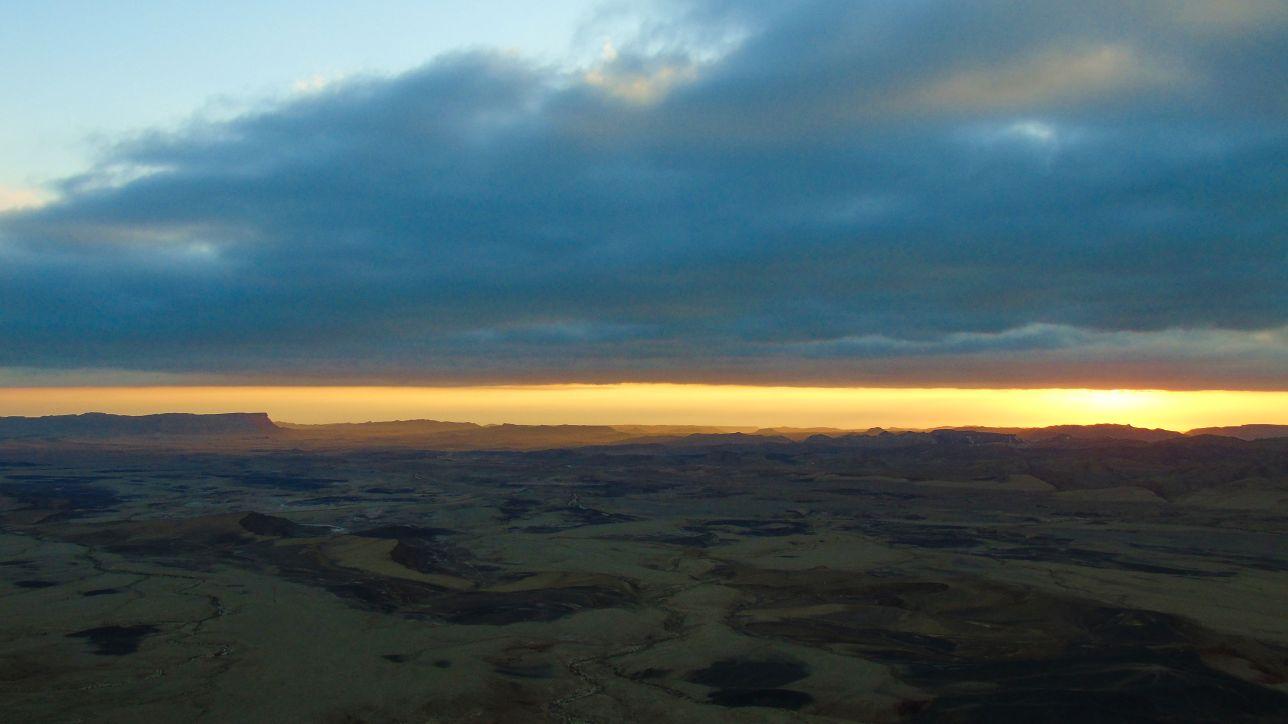 Atrakcja Izraela: Maktesz Ramon zwany niebieskim kraterem