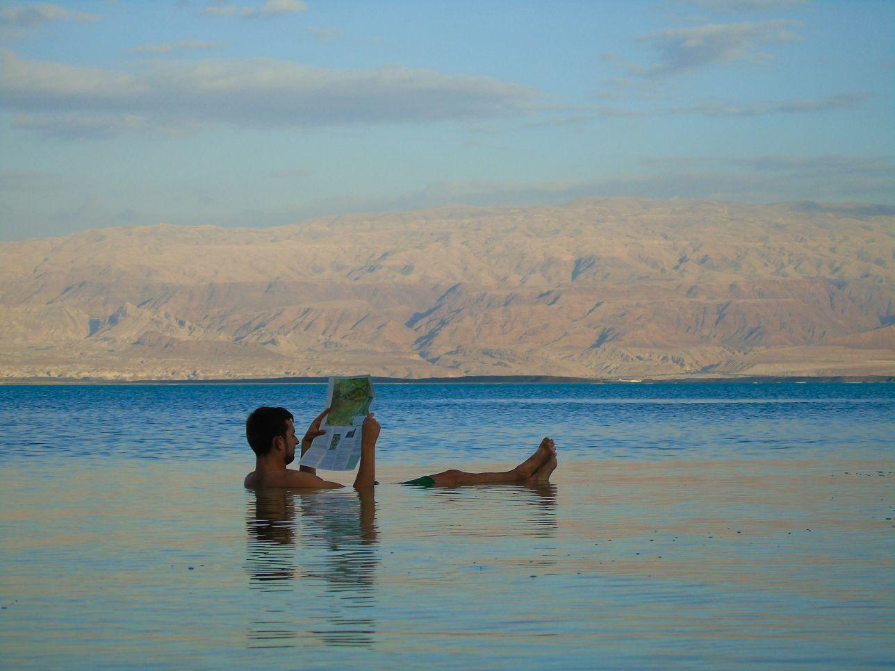 Morze Martwe to niesamowita atrakcja Izraela