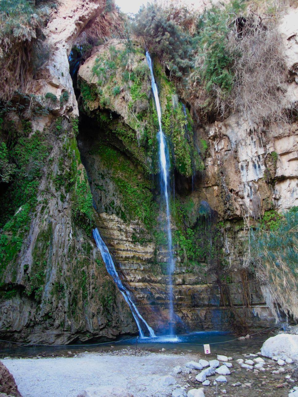 Wodospad Dawia jest jedną z wielu atrakcji Izraela
