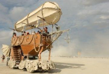 Festiwal Burning Man w Nevadzie i niesamowite instalacje