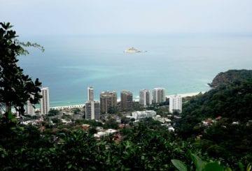 Rio de Janeiro widok z góry