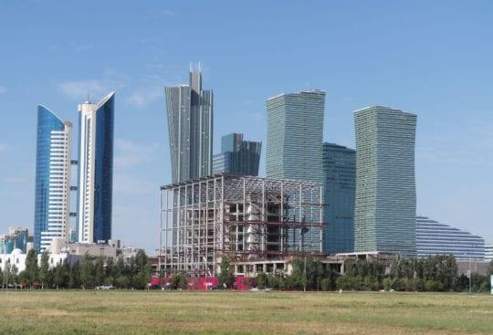 Astana, najmłodsza europejska stolica