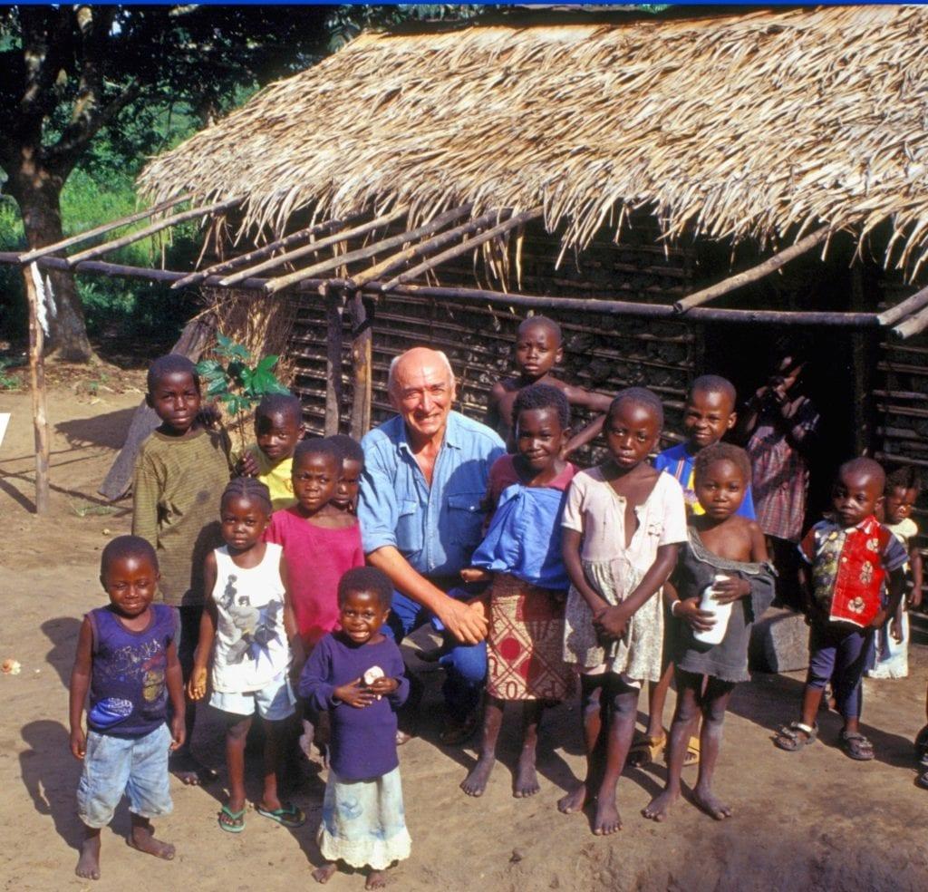 Dzieci we wsi w DR Kongo