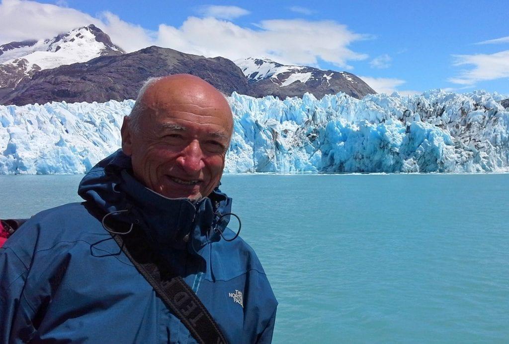 Lodowiec O`Higgins w Chile