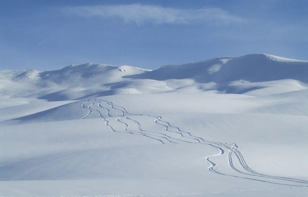 Alpy Francuskie zima