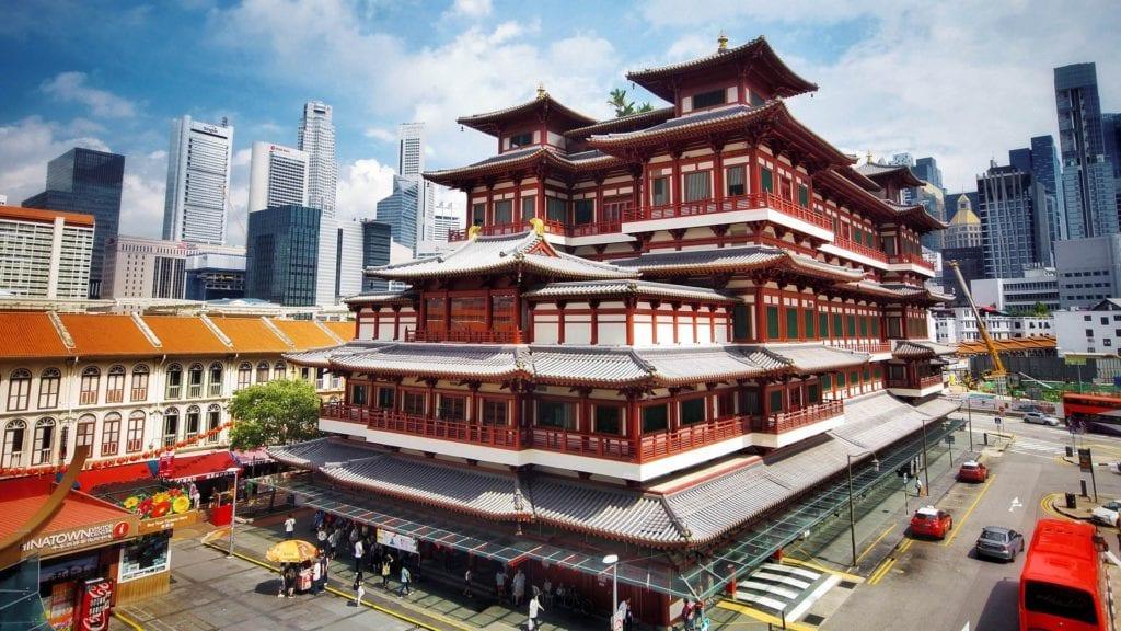 China Town w Singapurze