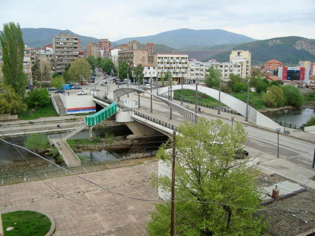Kosowska Mitrowica most