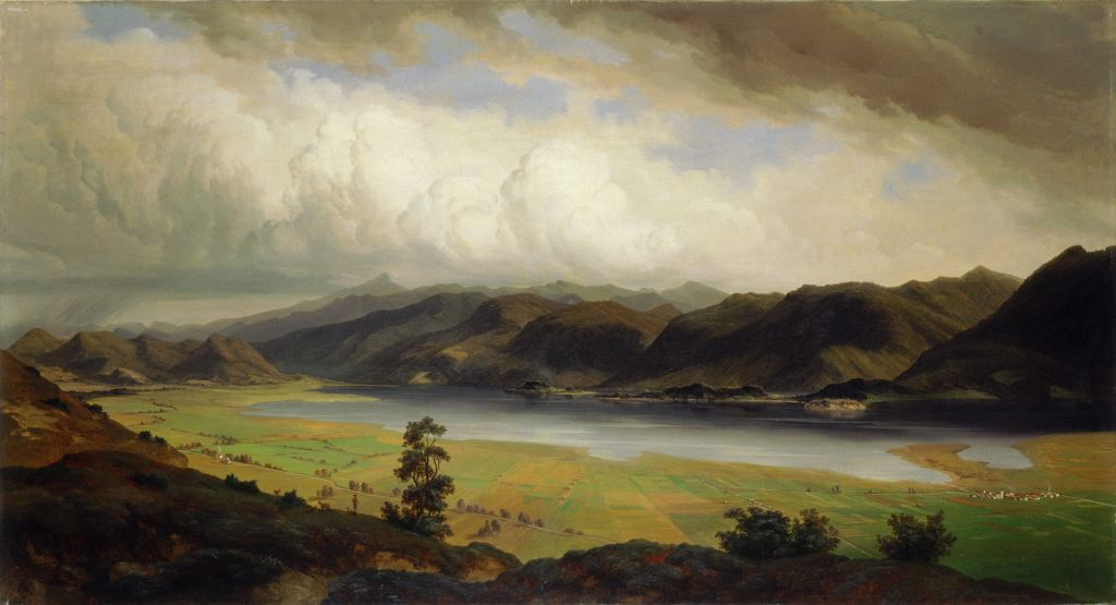 Marko Pernhart obraz Jezioro Cerknickie