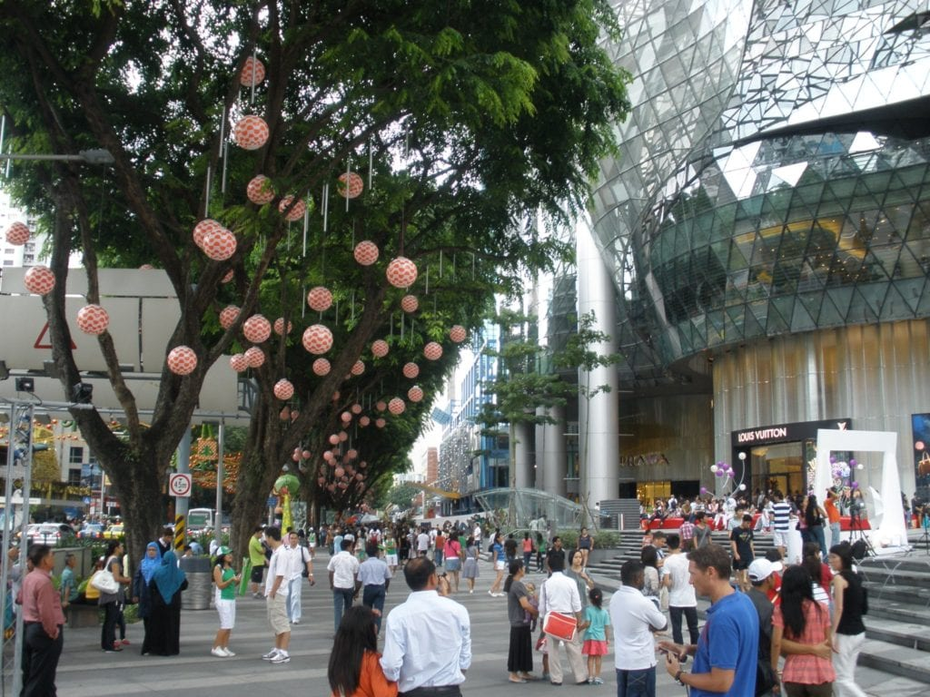 Orchard Road w Singapurze