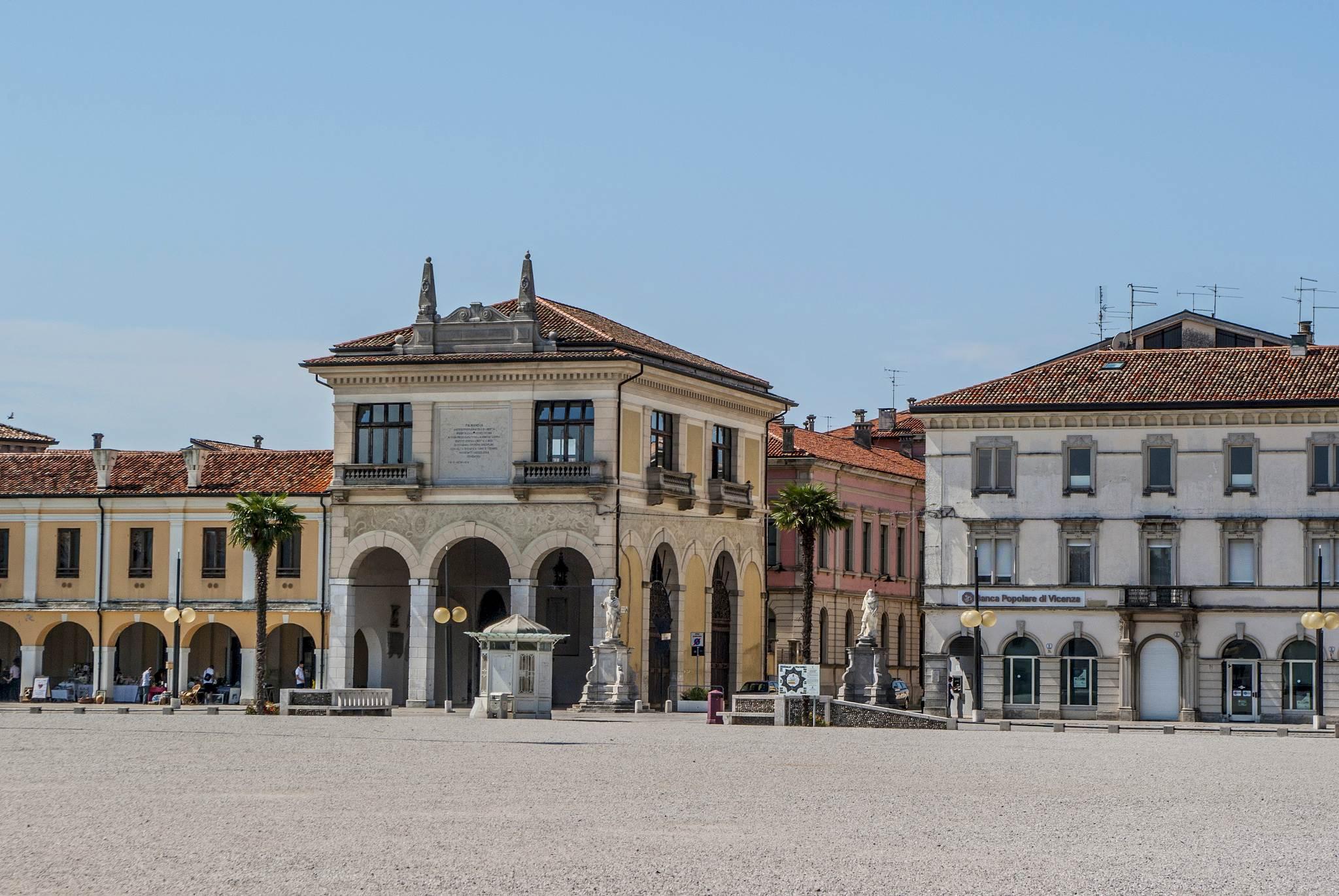 Piazza Grande Palmanova Włochy