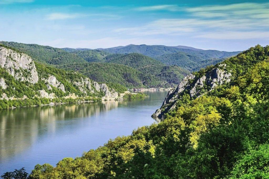 Park narodowy Djerdap, Serbia