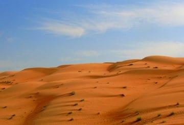 Pustynia Wahiba Sands