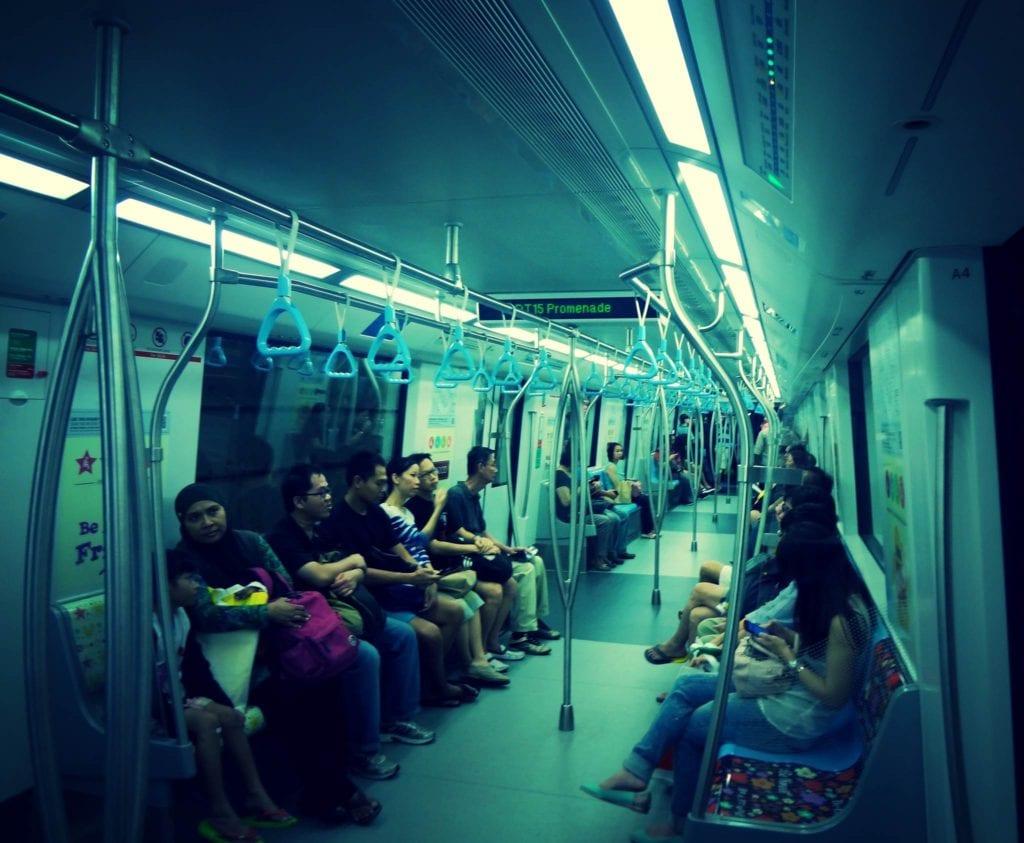 Metro Singapur transport publiczny