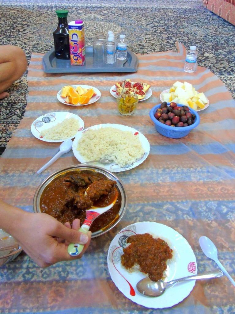 Posiłek w Omanie
