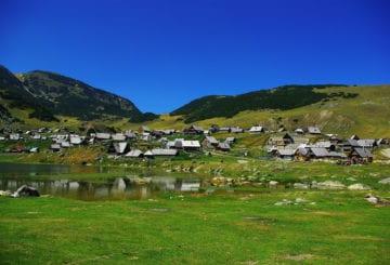 Zielona Bośnia krajobraz