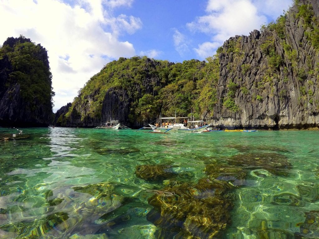 Palawan wysepki Filipiny