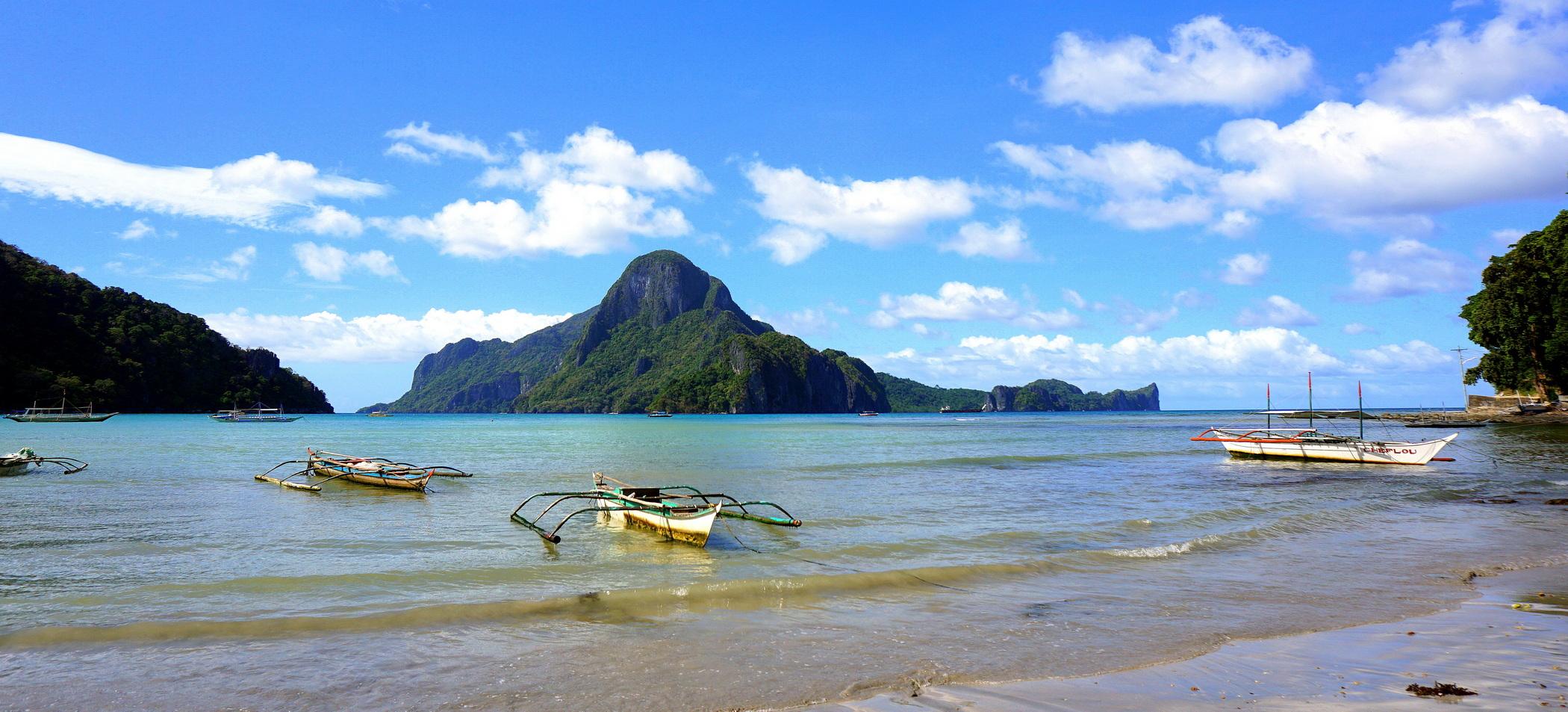 El Nido Filipiny Zatoka