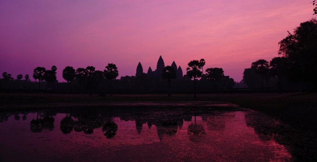 Angkor Wat Wschód słońca