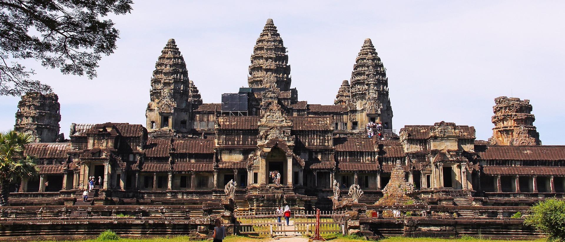 Angkor wat Panorama, Kambodża