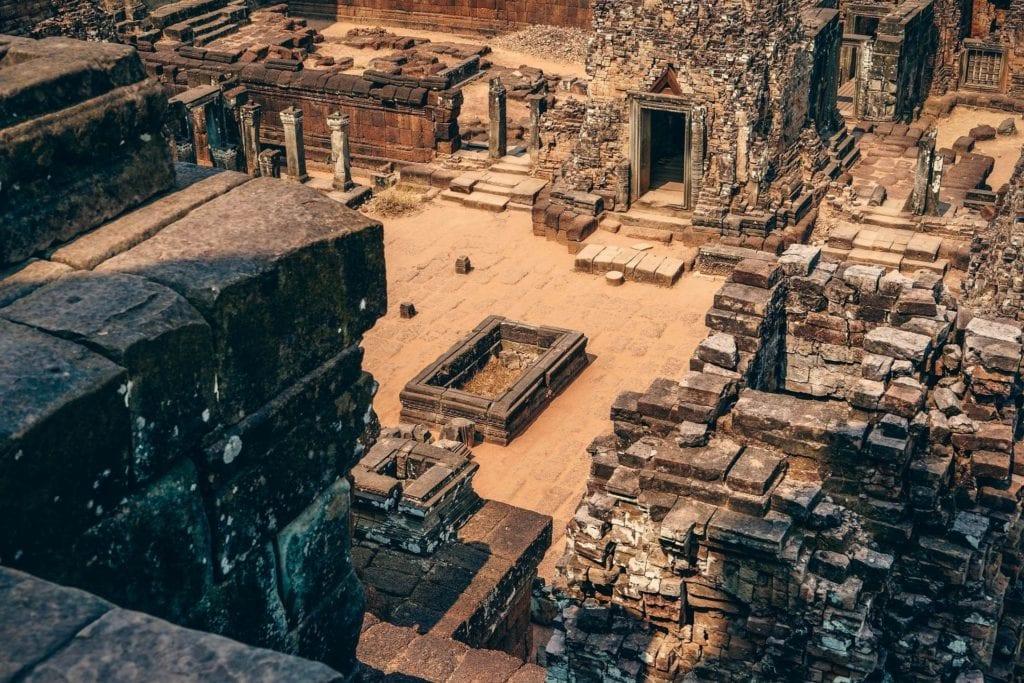 Starożytne Angkor w Kambodży