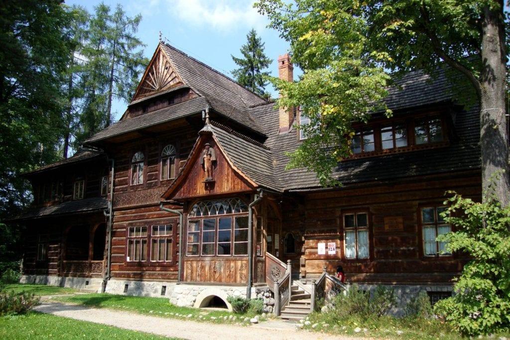 Architektura drewniana w Zakopanem