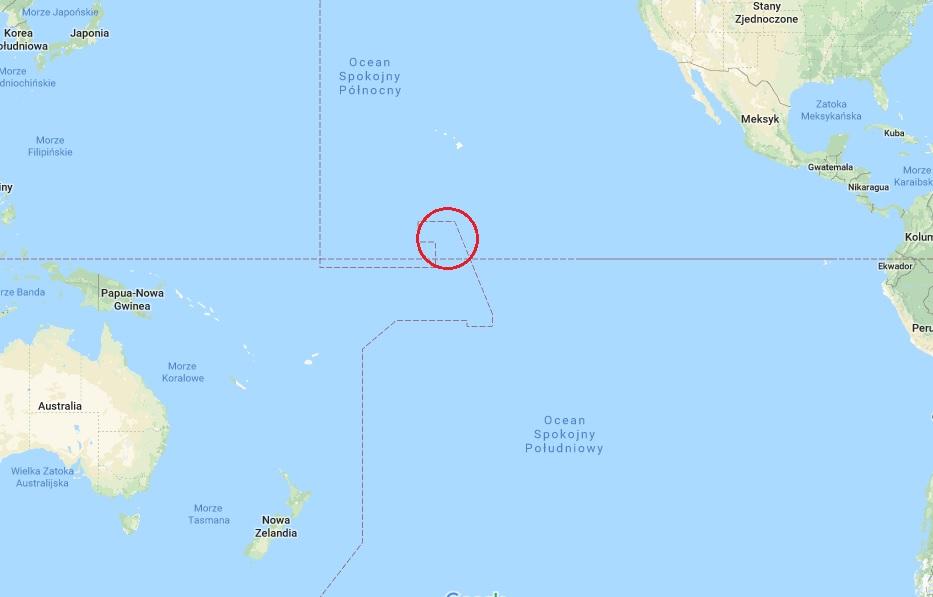 Kiribati Ocean Spokojny