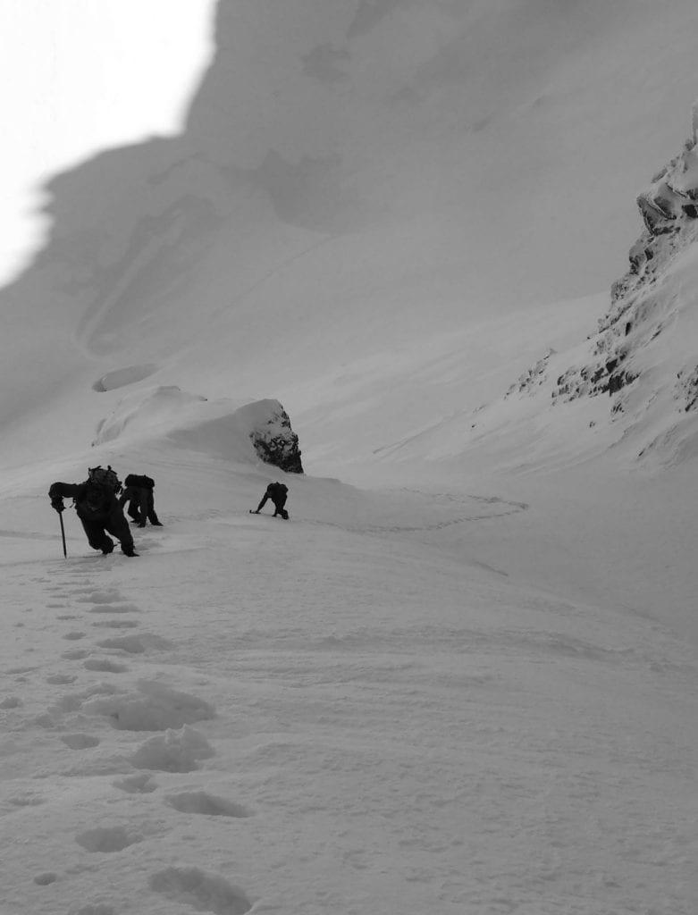 Zimowa wspinaczka w Tatrach