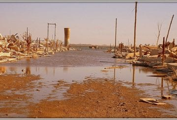 Ulice Epecuen Argentyna