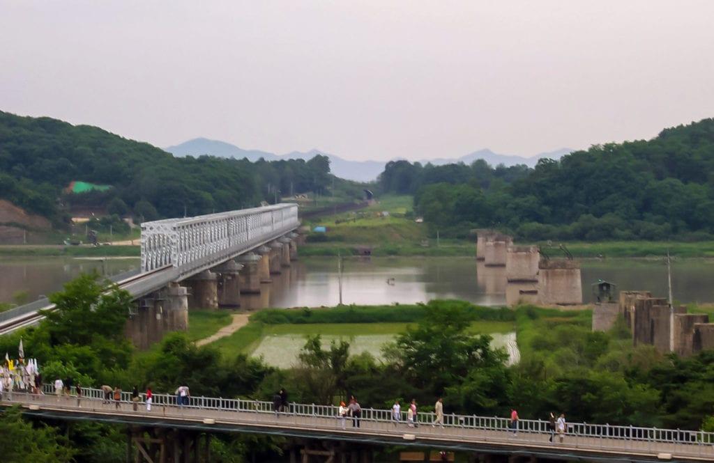 Most Wolności Imjingak Korea