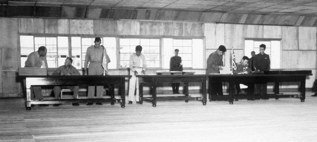 Wojna Koreańska DMZ