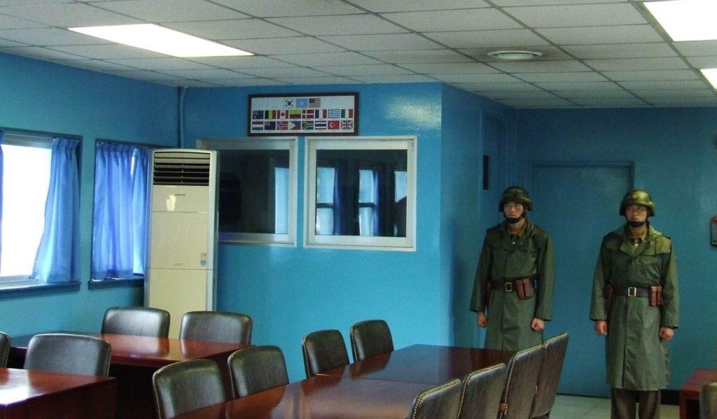 DMZ Korea Północna żołnierze