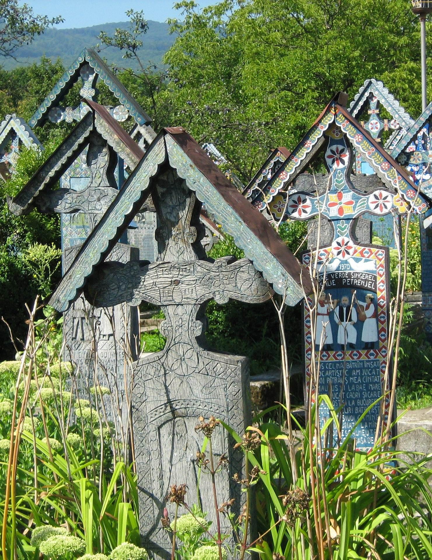 Cmentarz Sapanta, Rumunia