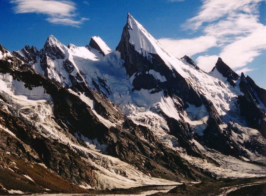 Laila Peak w pasmie Karakorum, Pakistan