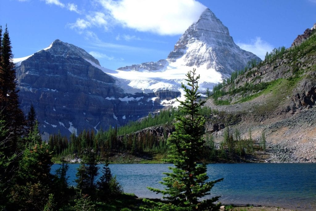 Mount Assiniboine w Kanadzie