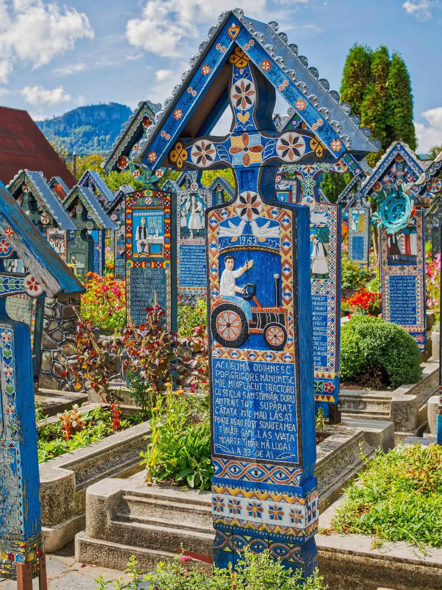 Wesoły cmentarz Rumunia