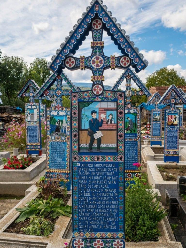 Cmentarz Sapanta w Rumunii