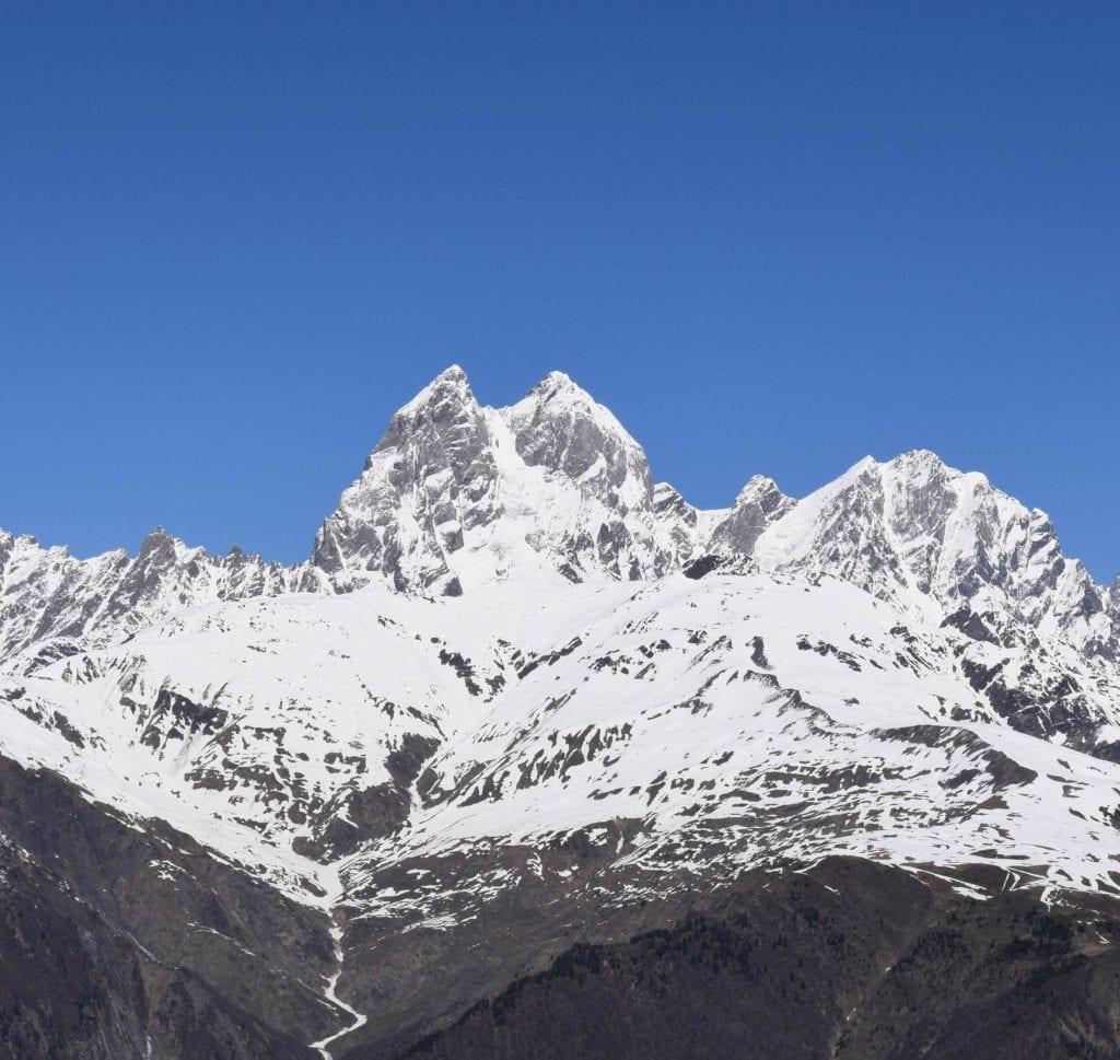 Uszba szczyt w Gruzji, Kaukaz