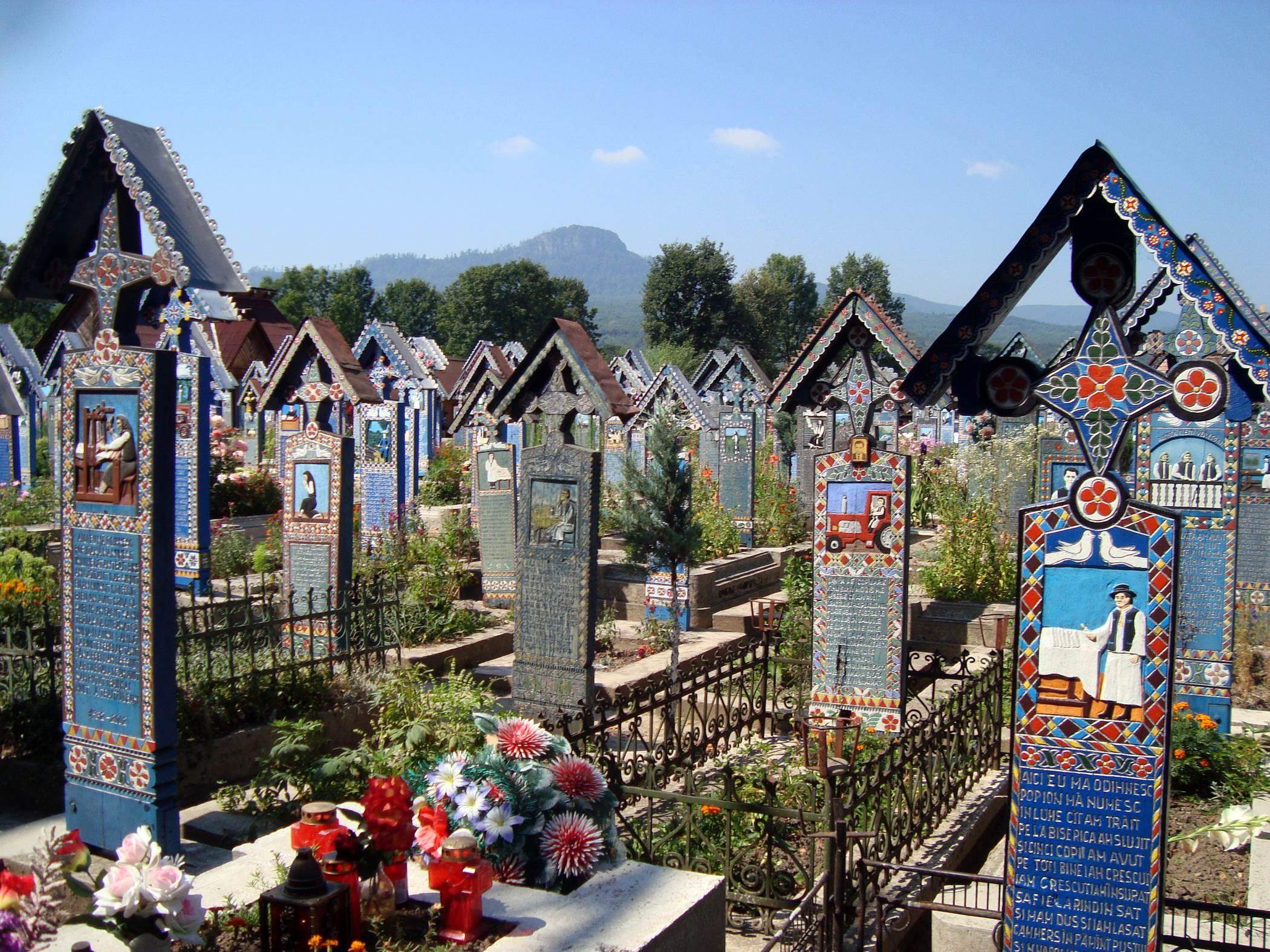 Wesoły Cmentarz, Sapanta, Rumunia