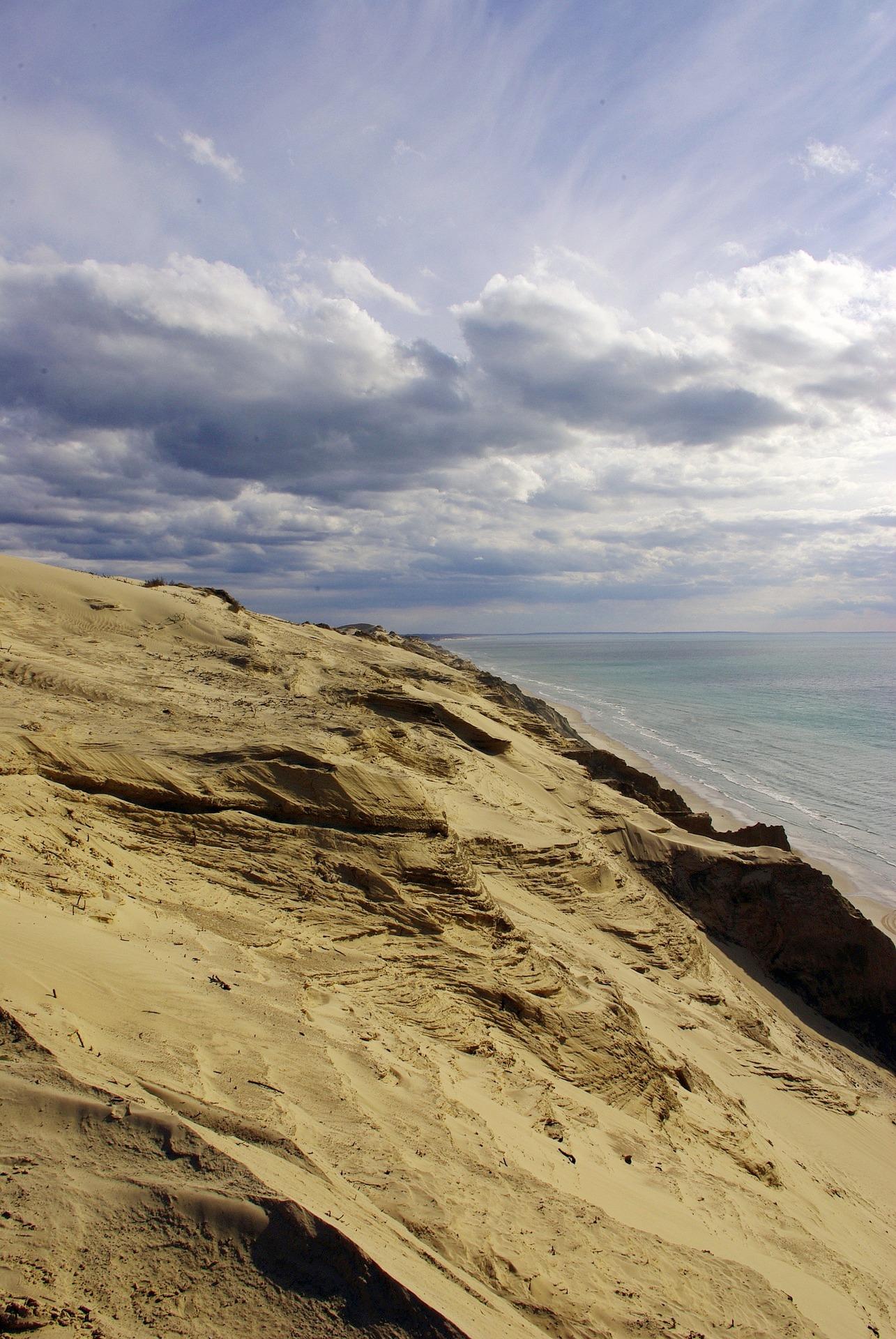 Klif Rubjerg Knude i Morze Północne