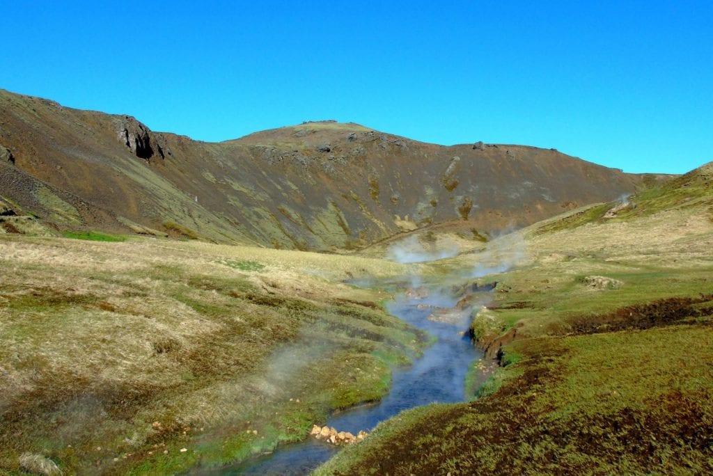 Hveragerdi gorące rzeki Islandia