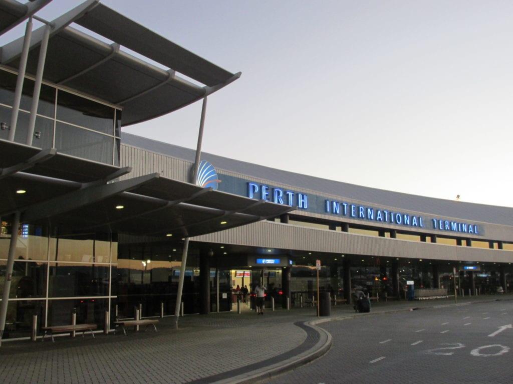 Terminal lotniczy w Perth, Australia