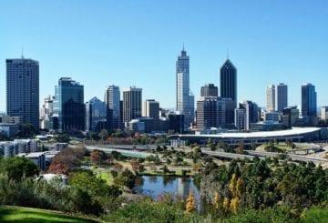 Kings Park w Perth, Australia