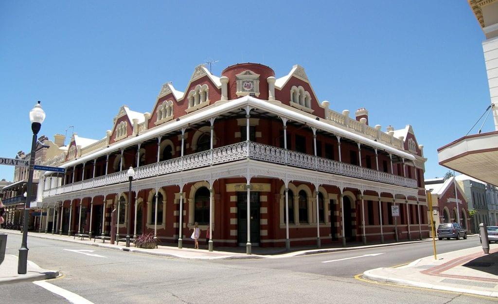 Perth, architektura kolonialna
