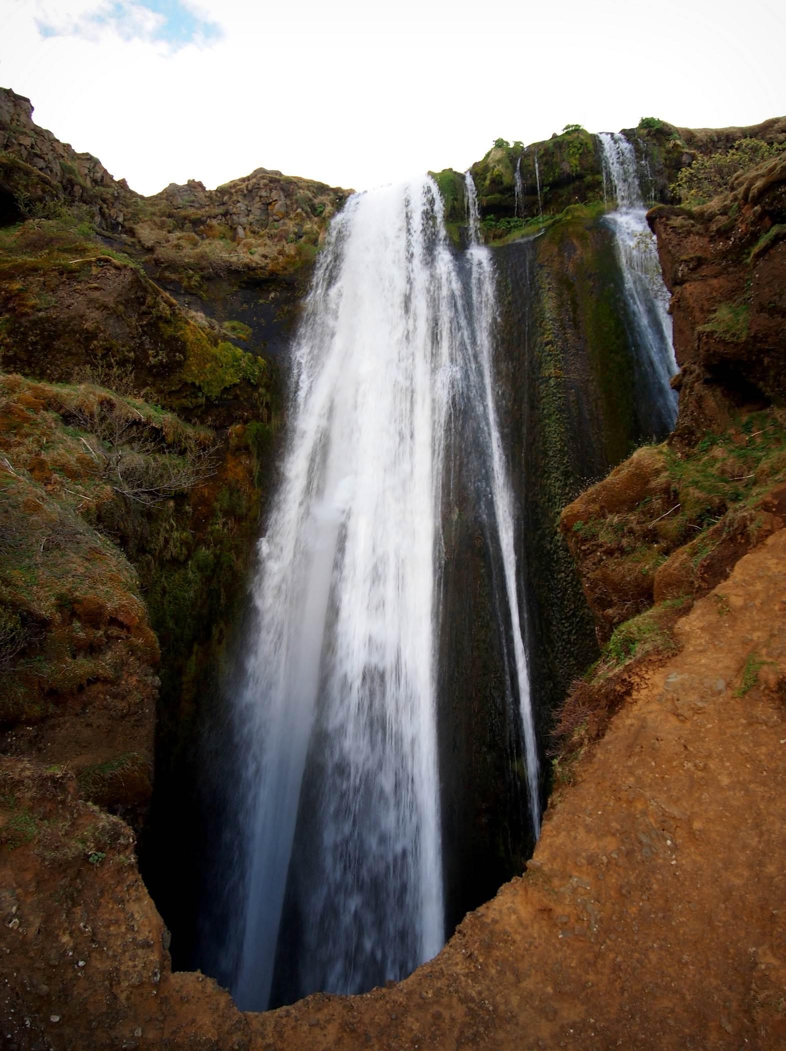 Wodospad Gljúfrabúi na Islandii