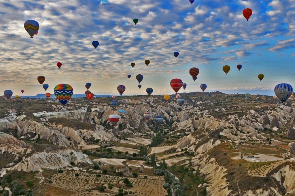 Loty balonem w Kapadocji