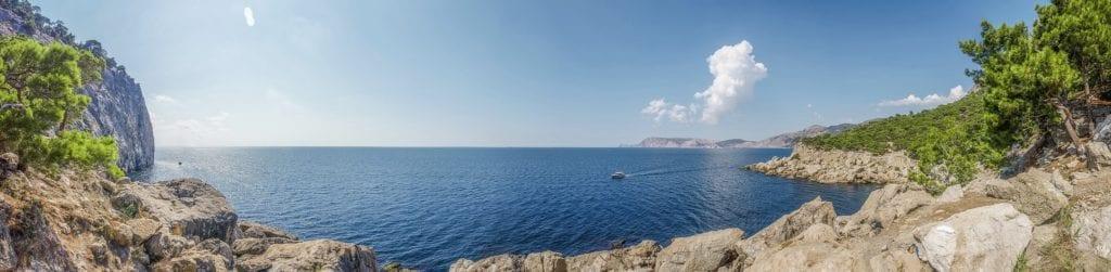 Plaża na Krymie, Morze Czarne